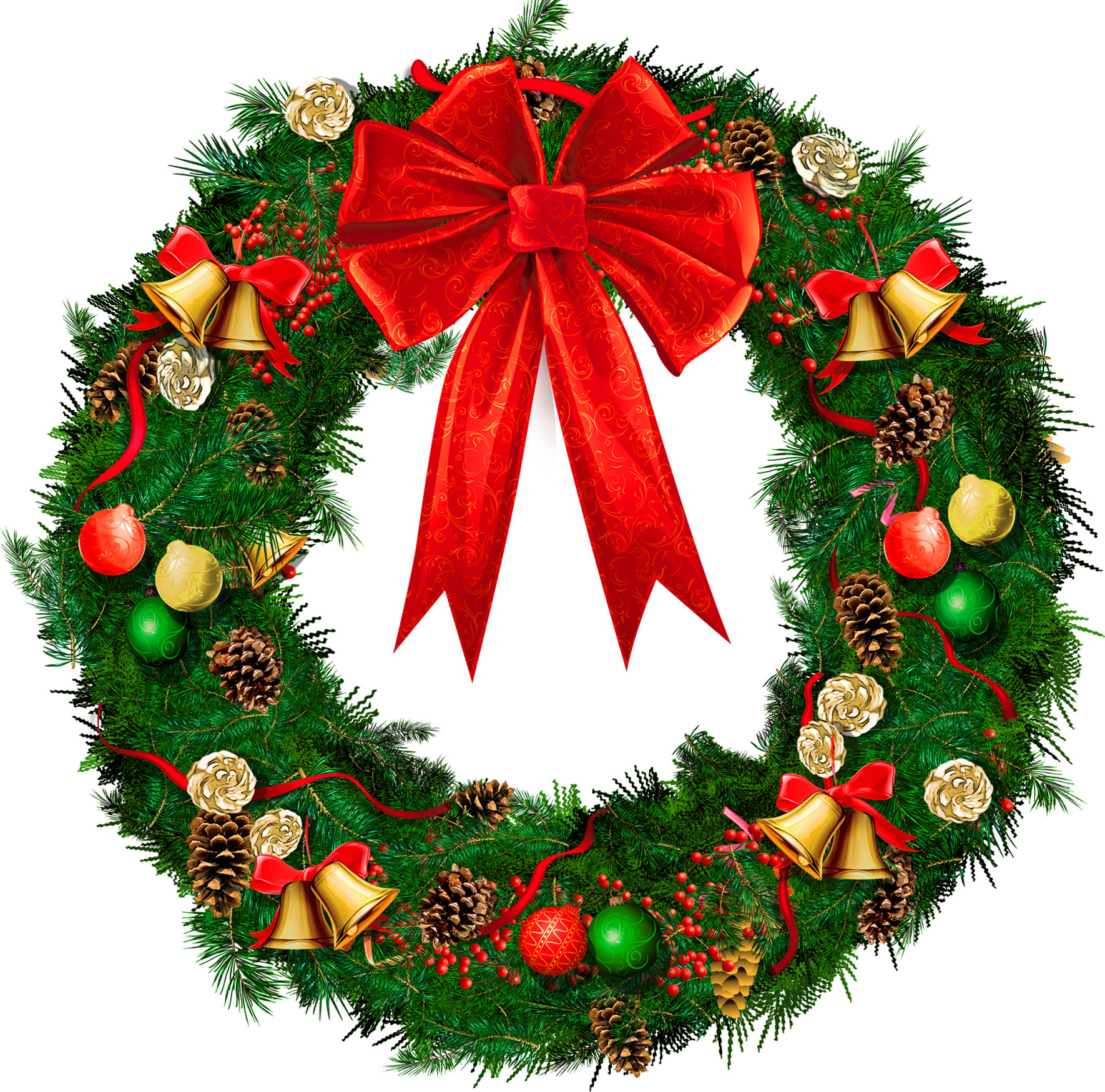 Christmas Wreath Images Free.Christmas Wreath Png Image 39759 Free Icons And Png
