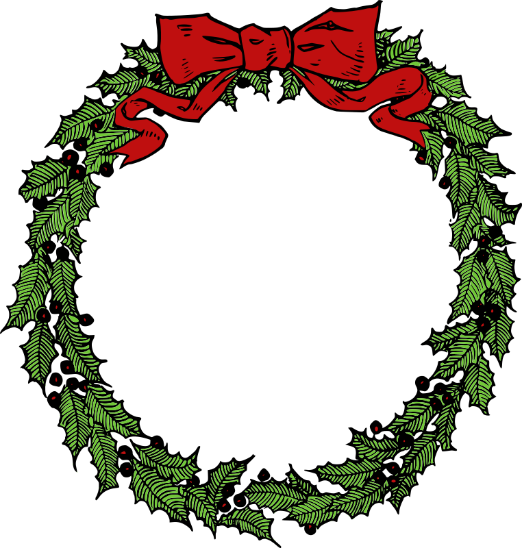 Christmas Wreath Png Picture