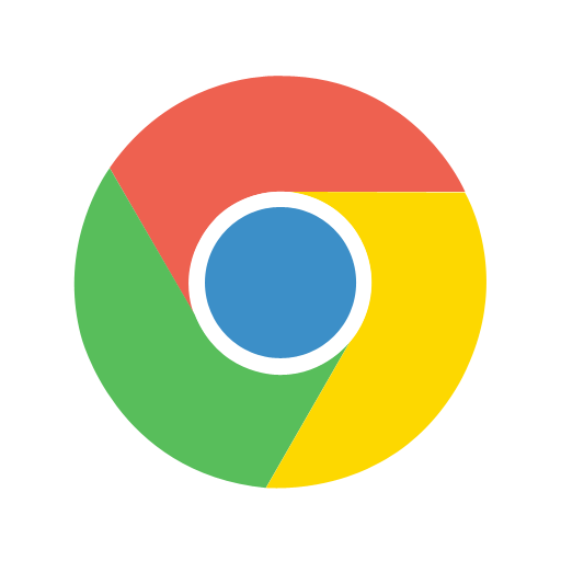Chrome, google, logo, social icon