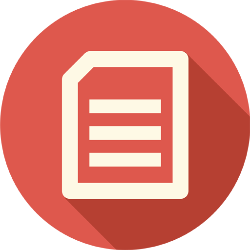 Circle, Document, Documents, Extension, File, Page, Sheet Icon image #36543