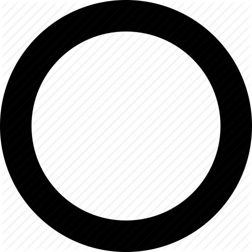 Circle Empty Image Icon Png image #31180