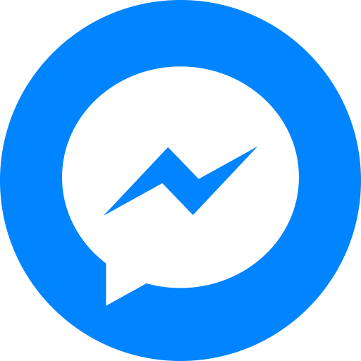 Circle Social Facebook Messenger Logo Png