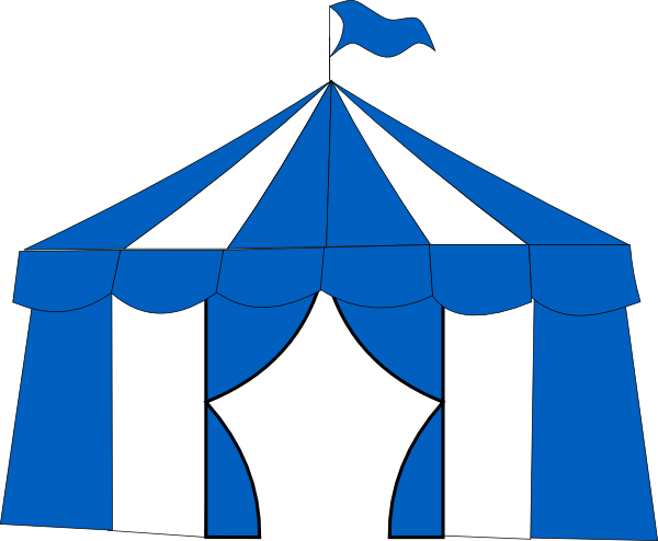 Circus, Blue, Tent download tent PNG images