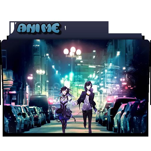 City Anime Folder Icon