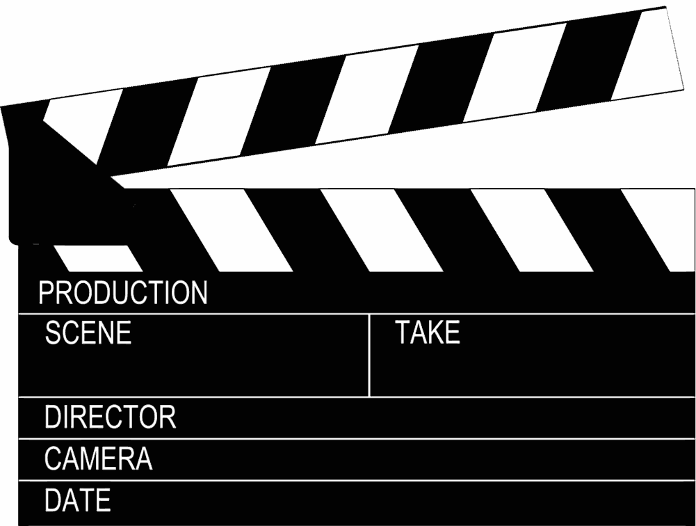 HD Clapperboard PNG