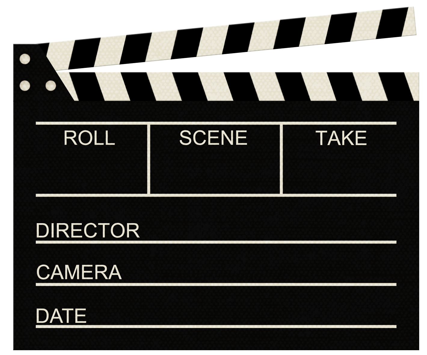 Clapperboard Png image #30949