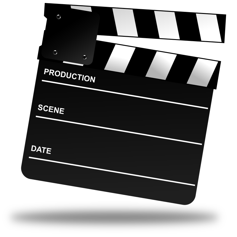 Png Format Images Of Clapperboard