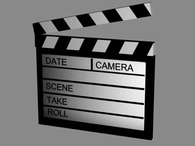 Clapperboard Png image #30965
