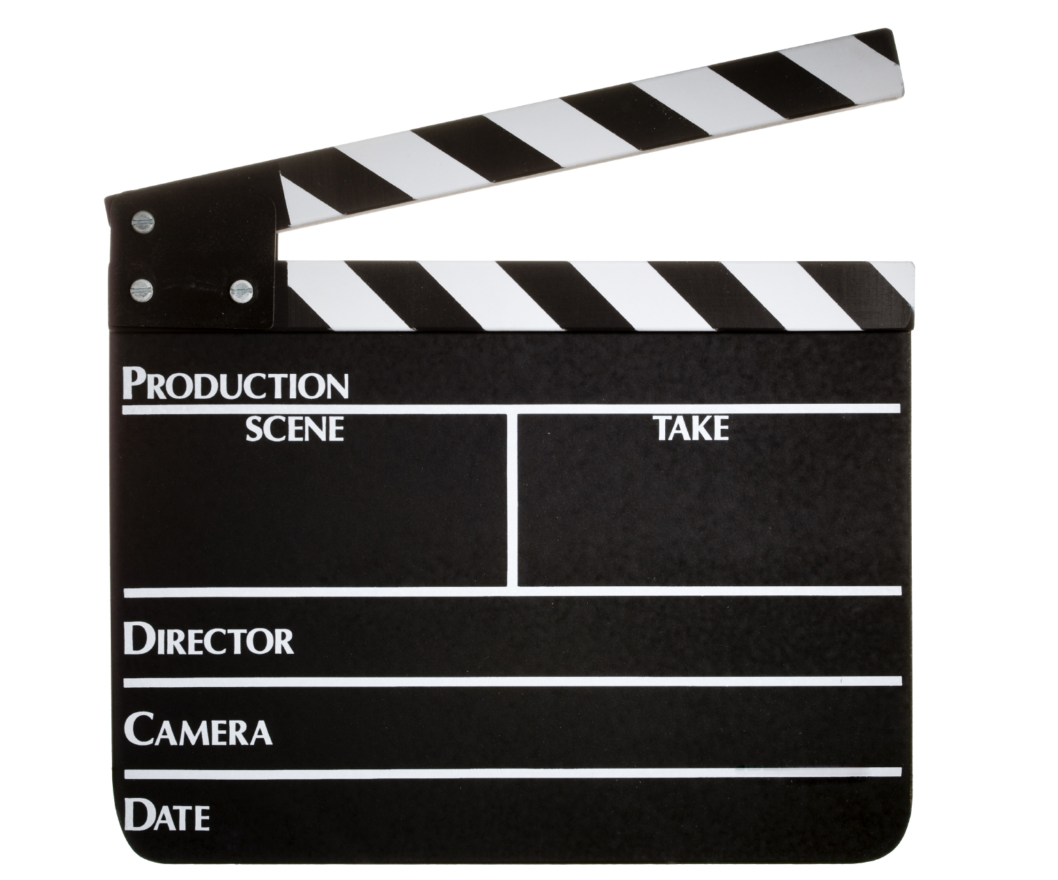 Clapperboard Png image #30966