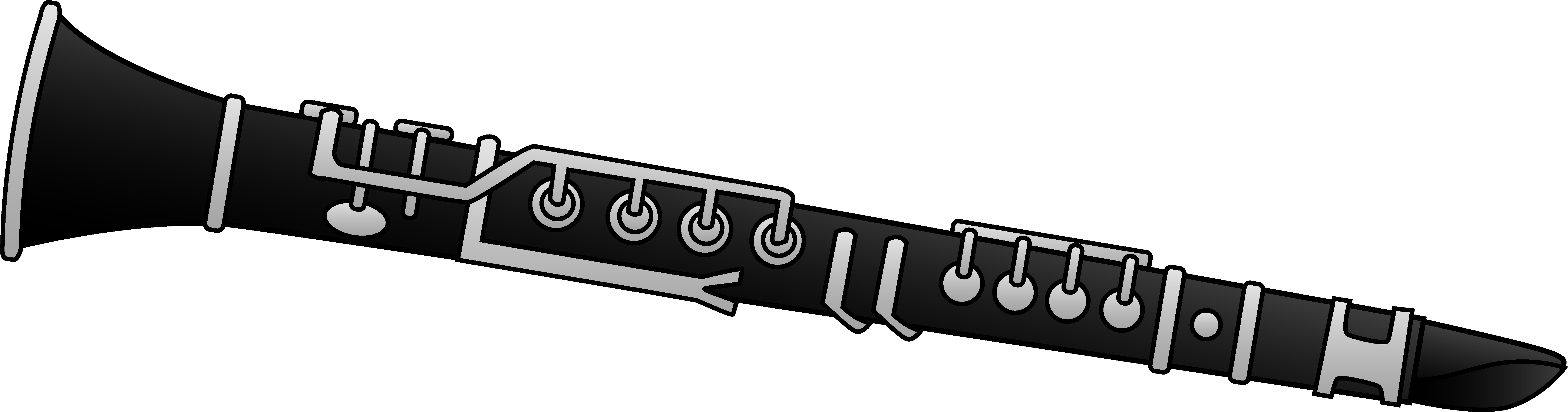 Clarinet Clipart Design Free Clip Art