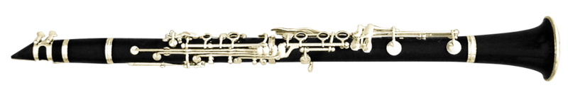Clarinet Flopped Png image #41327