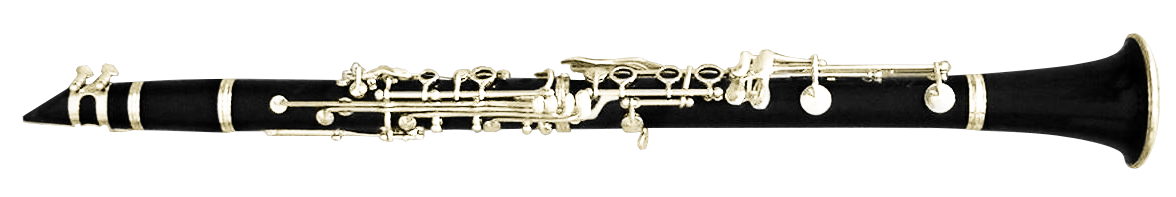 Clarinet flopped png