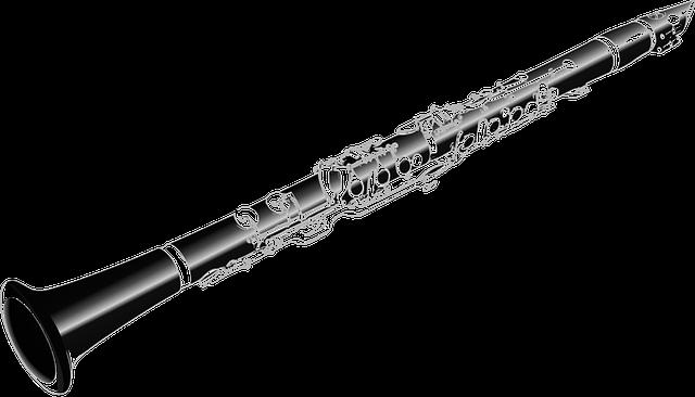 Clarinet Flute photo vectors