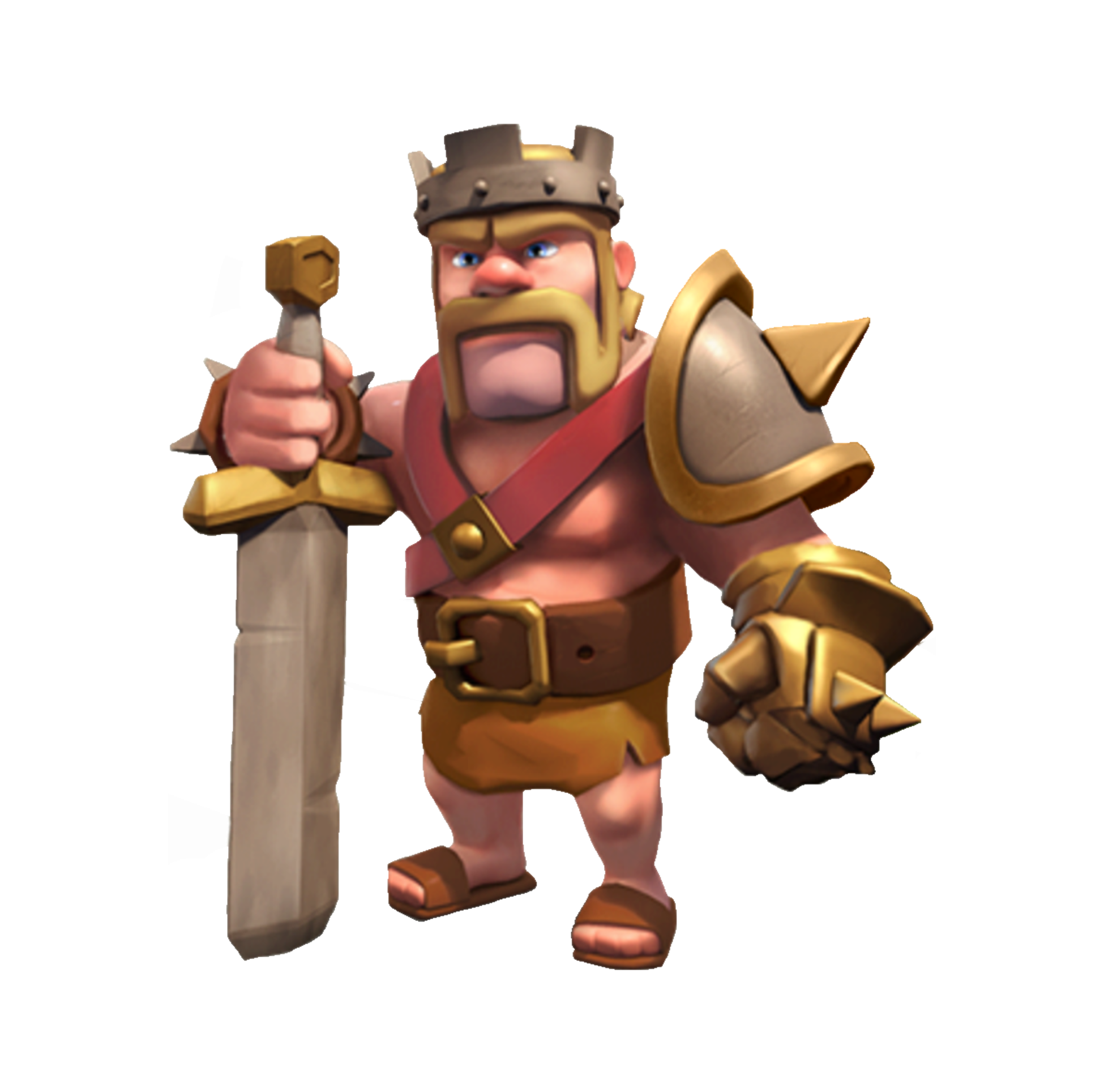 Clash Of Clans, King Icon Vector