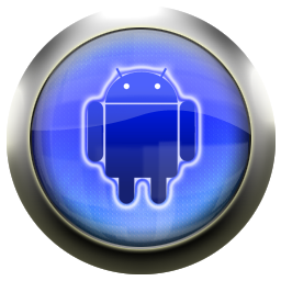 classic blue android icons