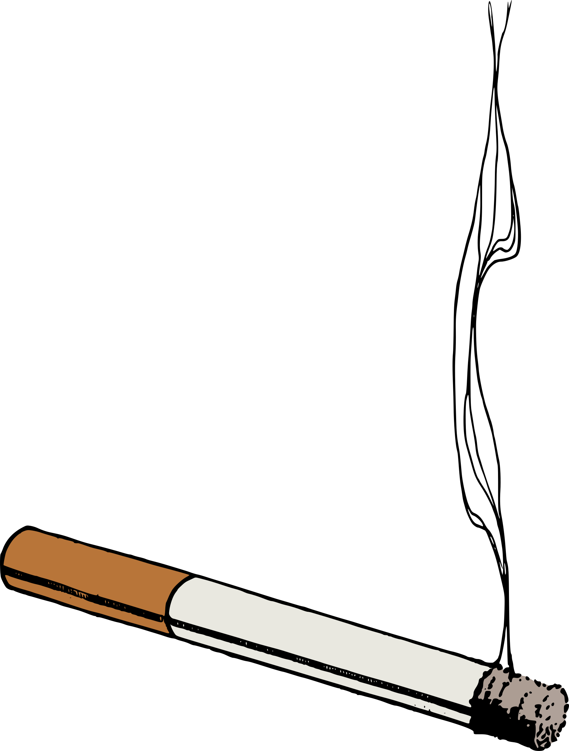Clipart  Colour Cigarette