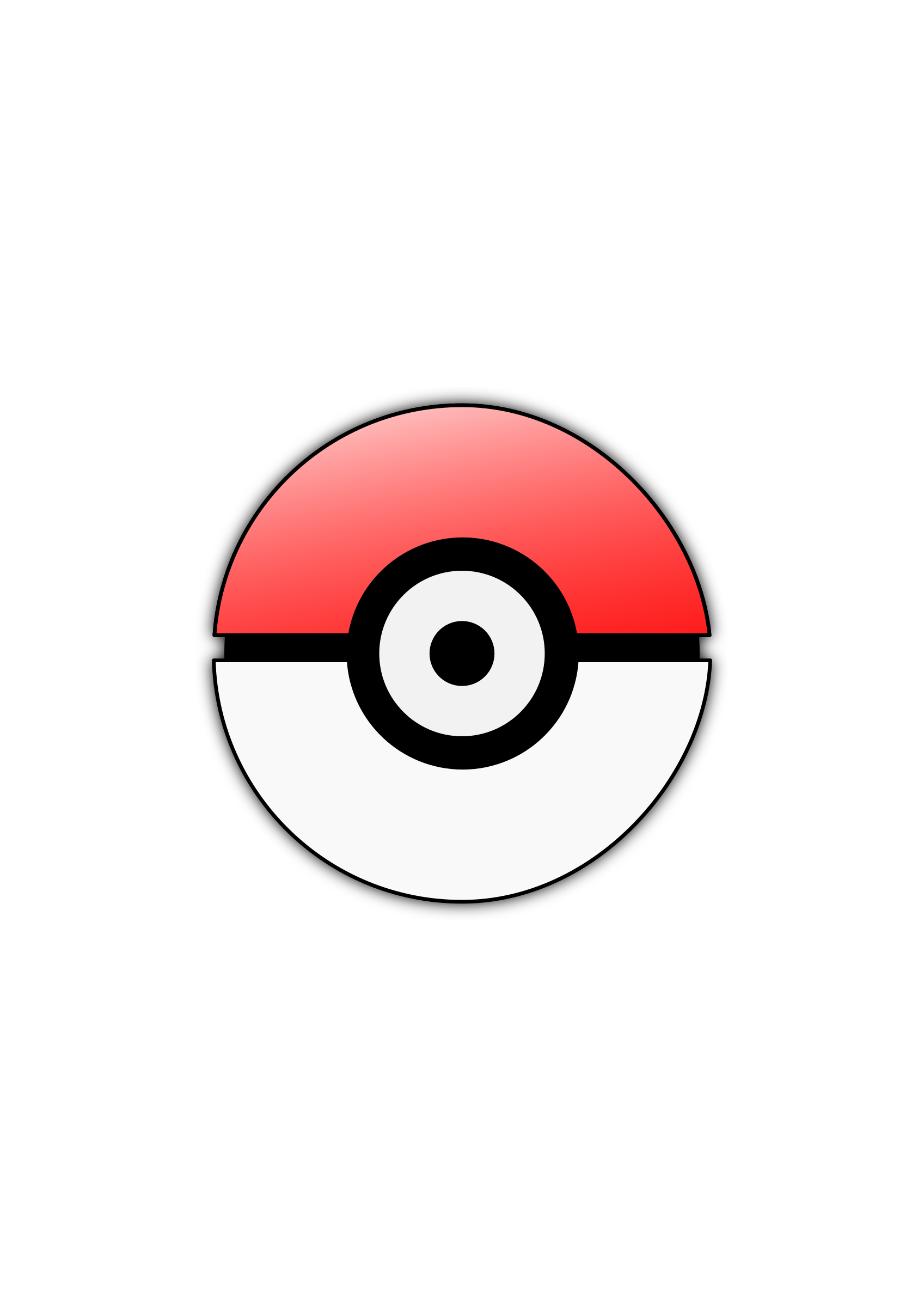 Clipart Pokeball image #45351