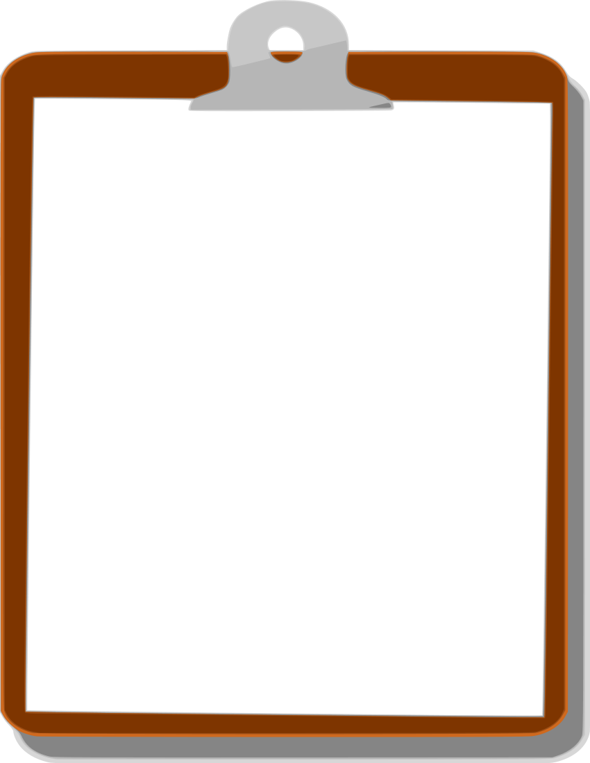 Clipboard Background Png image #13181