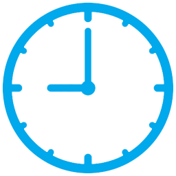 Simple Clock Png