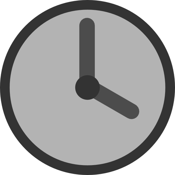 Free Download Of Clock Icon Clipart