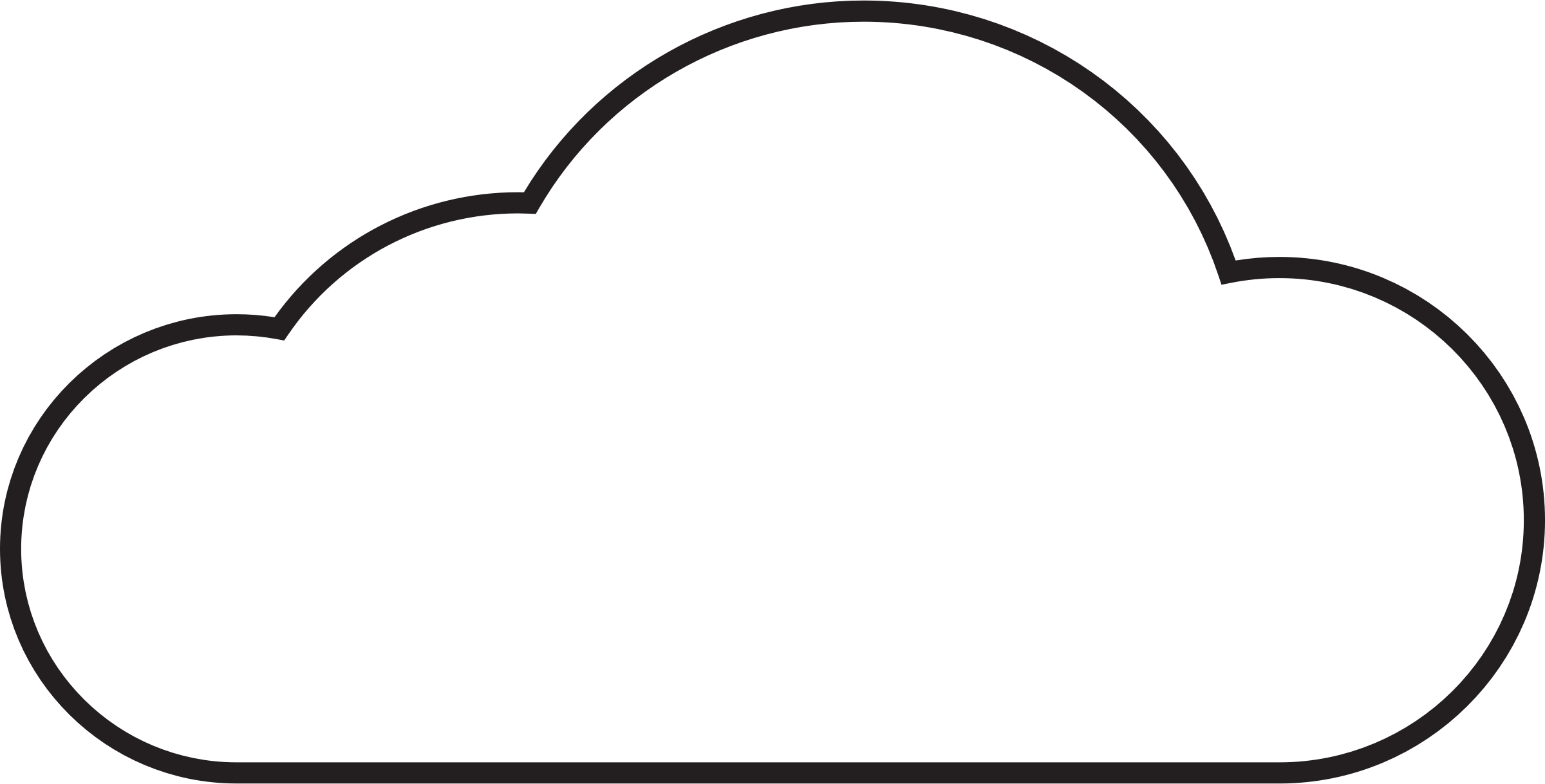 Free Cloud Outline Files
