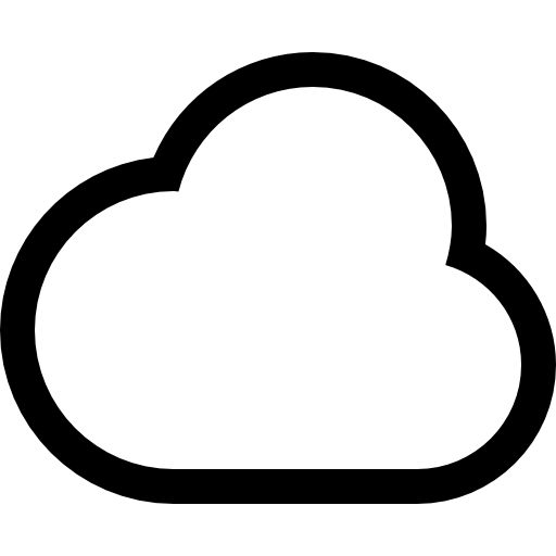 Cloud Outline Png Vector