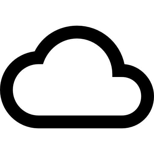 Cloud Outline Download Icons Png image #22307