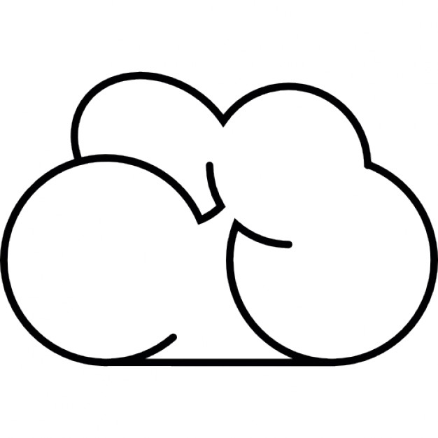 Png Download Cloud Outline Icons