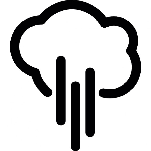 Icon Download Cloud Outline