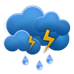 Cloud, Rain, Weather Icon image #11054