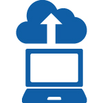 Cloud, Up, Computer, Upload Documents Icon image #43251