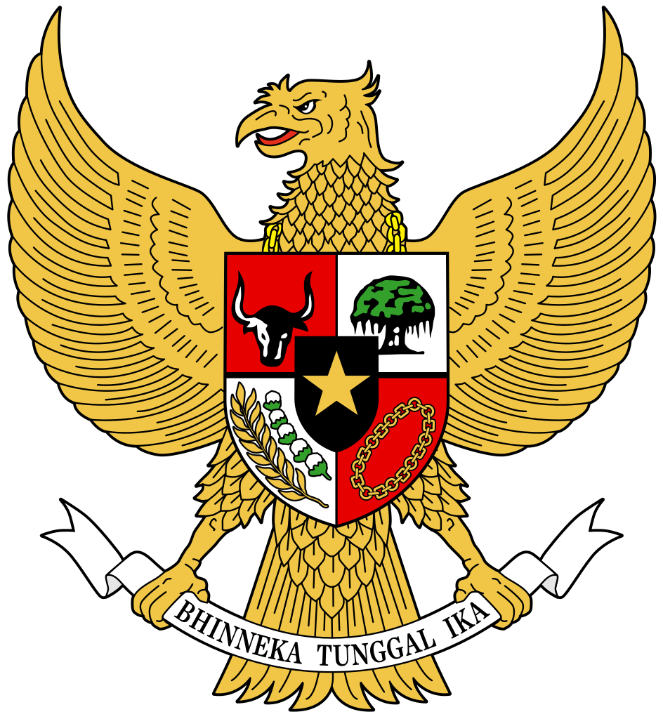 Coat Of Arms Of Indonesia Png Clipart