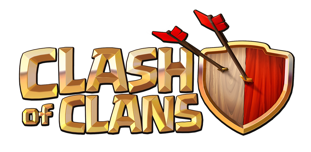 Coc,Clash of clans logo Icon Free