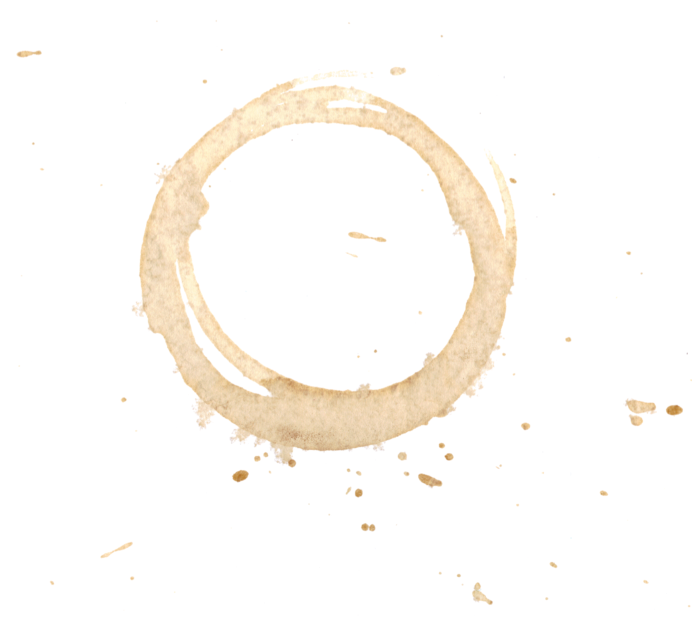 Coffee Stain Clip Art image #33675