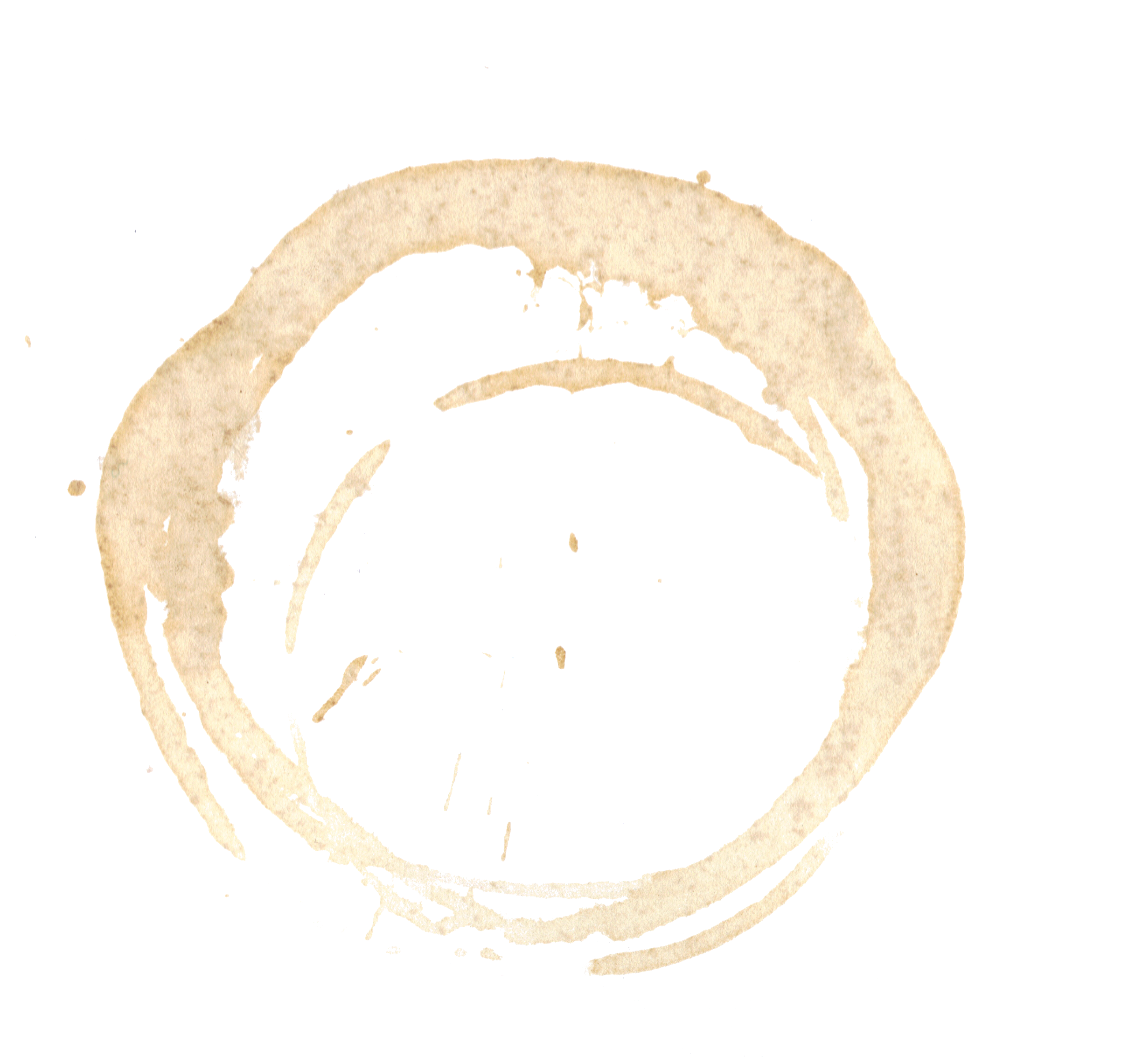 Coffee Stain HD PNG image #33679