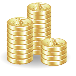 Transparent Coin Png image #3833