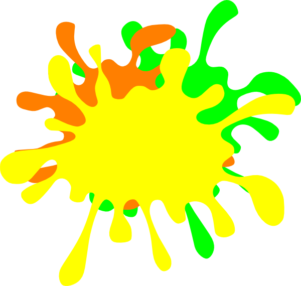 color splat png transparent
