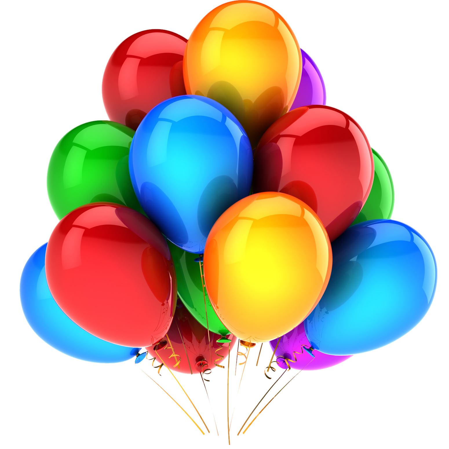 Colorful Balloon Png image #28079
