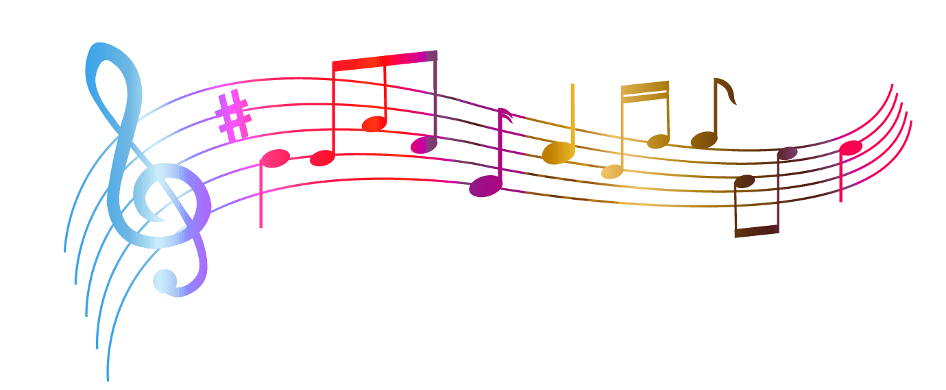 Colorful Music Notes Picture
