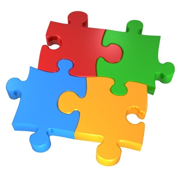 Colorful Puzzle Icon image #28364