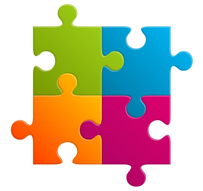 Colorful Puzzle Icon image #28368