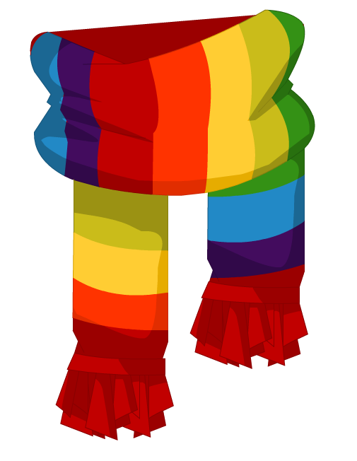 colorful scarf png