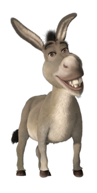 Comic Donkey Character Of Shrek Movie image #47505