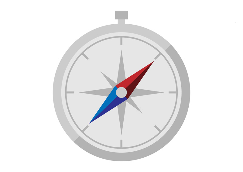 Icon Vector Compass image #13556