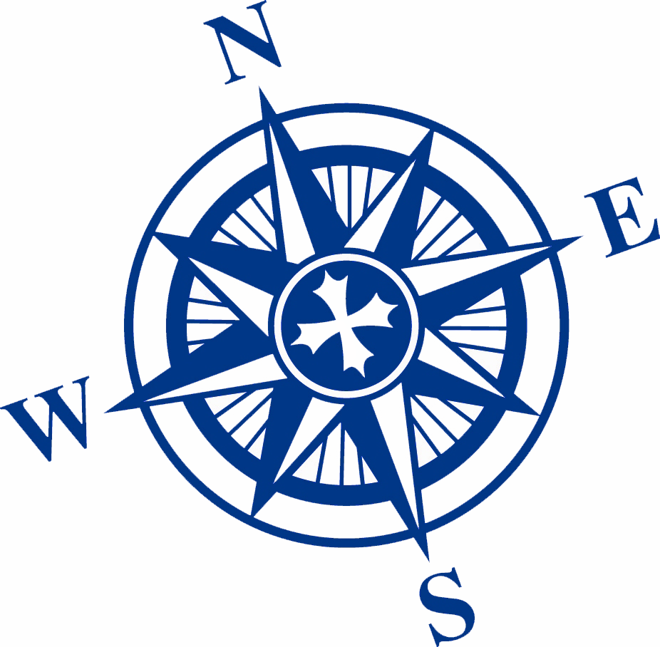 Free Download Of Compass Rose Icon Clipart