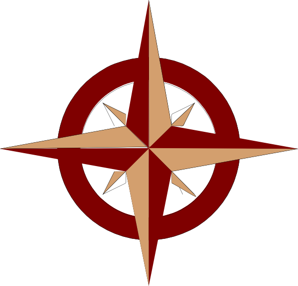 Compass Rose Photo PNG image #29394