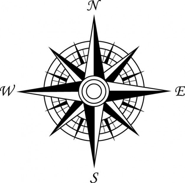 Hd Compass Rose Image In Our System image #29400