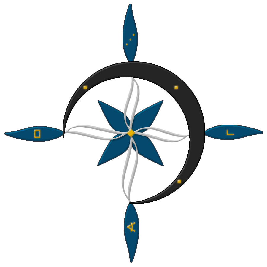 Use These Compass Rose Vector Clipart image #29402