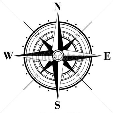 File Compass Rose PNG image #29403
