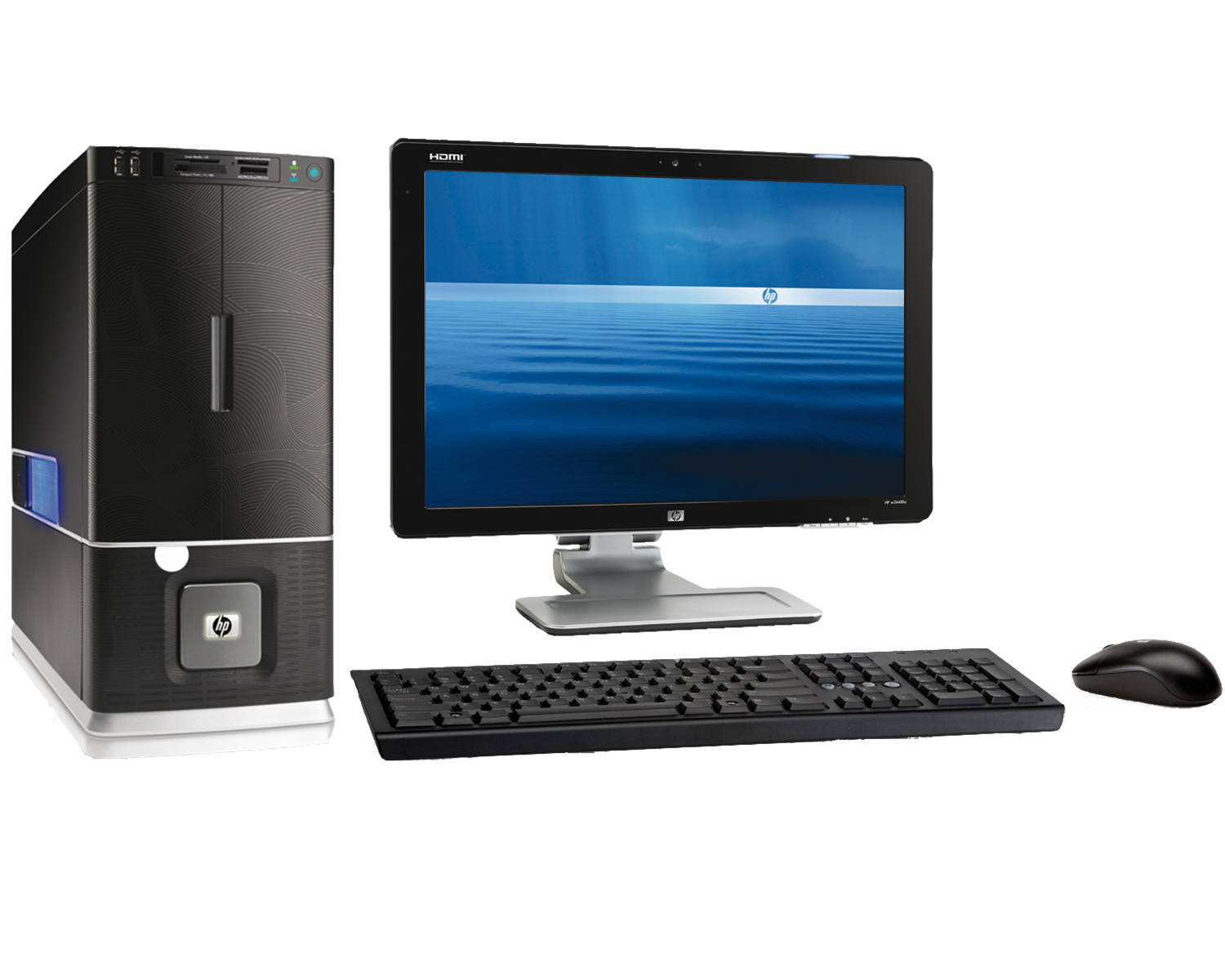 computer case, monitor, mouse, keyboard png